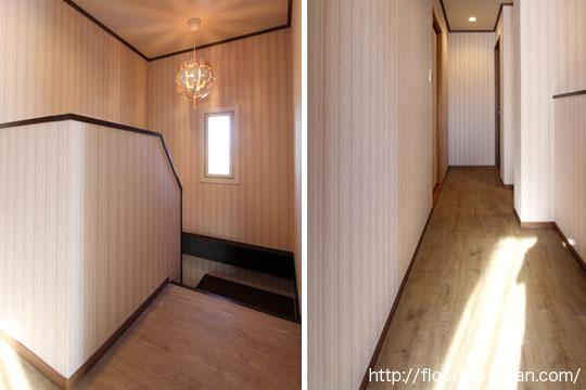 PVCフローリング(デコクリック)をリフォーム物件の床材として使用