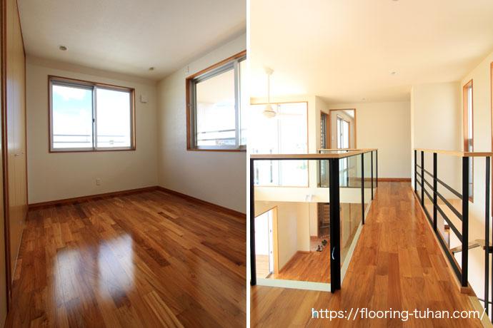 2階部屋/渡り廊下