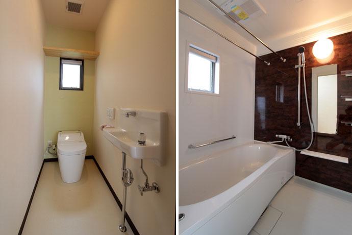 トイレ/バスルーム 住宅フローリング