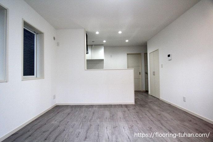 デコクリックを賃貸住宅(アパート)の床材として使用