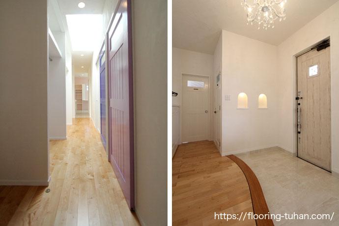 白色を基調とした戸建住宅をご紹介いたします。