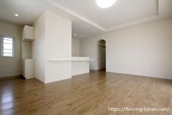 住宅にご使用いただいたPVCフローリング(デコクリック)の施工写真をご紹介